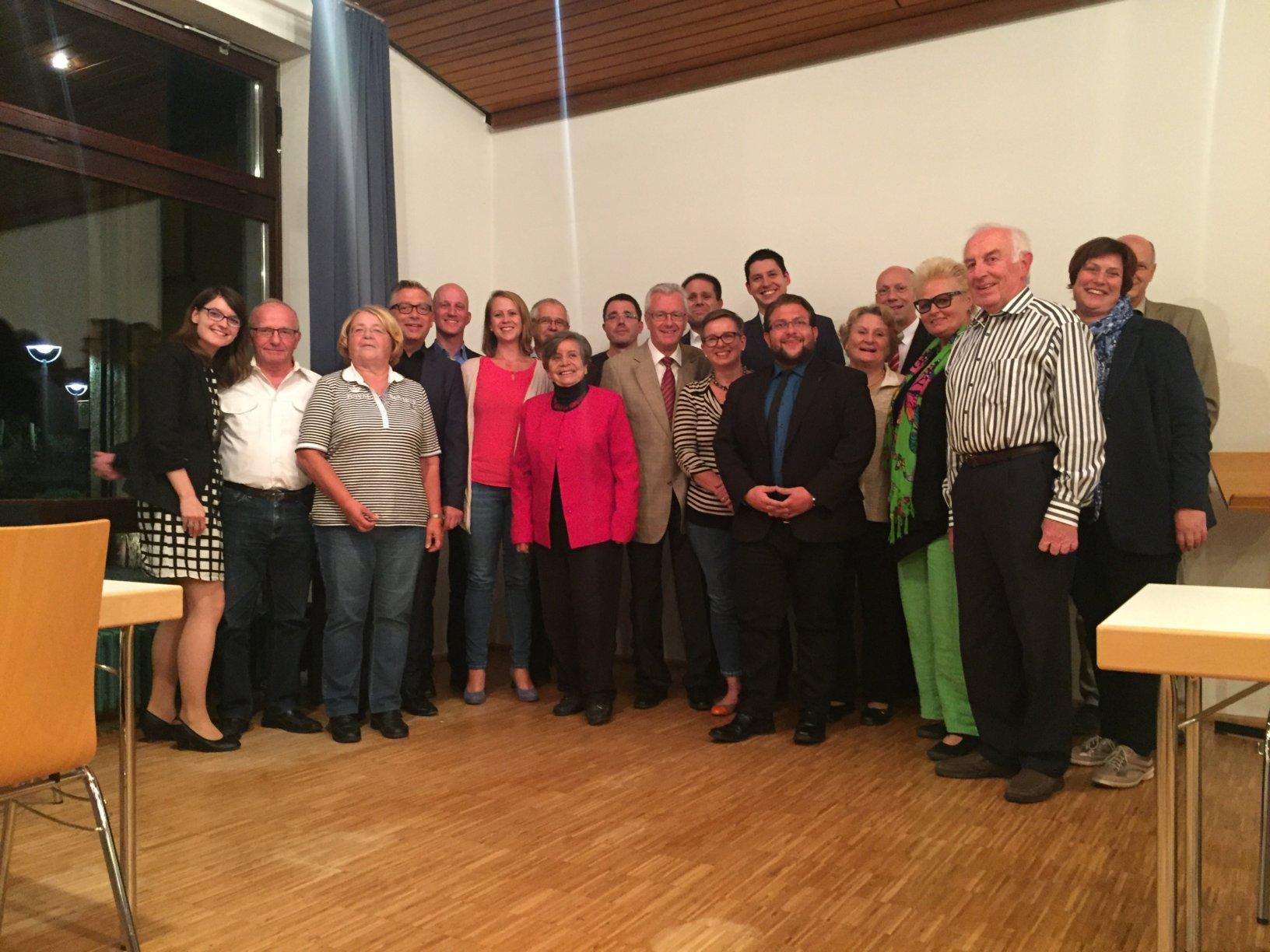 Der neue Vorstand des CDU Stdtverbandes