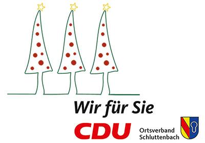 Glühwein unter dem Schluttenbacher Weihnachtsbaum
