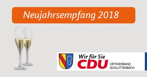 Neujahrsempfang 2018 in Schluttenbach